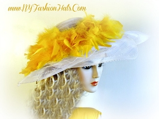 White Yellow Orange Pink Black Brown Designer Hats Ladies Hats BI92