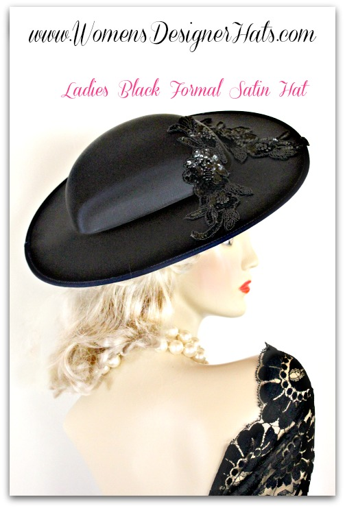 8f67919d269 This Ladies Hat Is Suited For Weddings