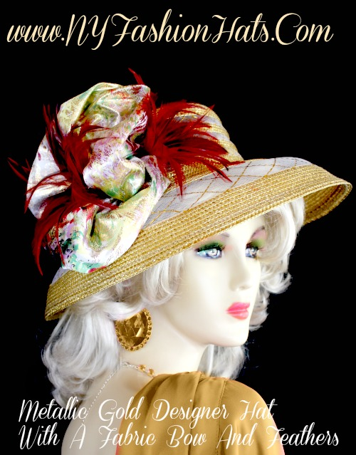 77e30f49 This Fashion Hat Is Appropriate For Church, Horse Races, The Kentucky Derby,  Wedding And Special Occasions. Custom Made And Designed By NY Fashion Hats,  ...