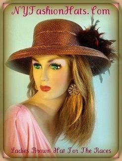 Ladies Designer Hats Brown Black Grey Blue Kelly Green Ivory 4YUM