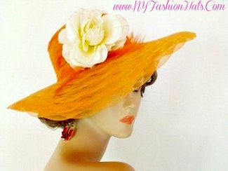 Orange Turquoise Blue Pink Purple Red Black Ivory White Navy Hat LRY
