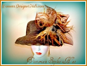 Brown Pink Black Ivory Navy Blue Red Purple Women's Hat, Fashion Hats