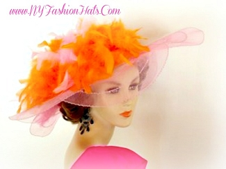 Pink Ivory Back Red Navy Brown Purple Turquoise Ladies Hats Yellow 8