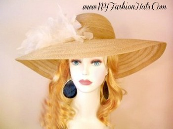 Beige Black Red Baby Blue Ivory Designer Wide Brim Hat Ladies Hats 9TZY